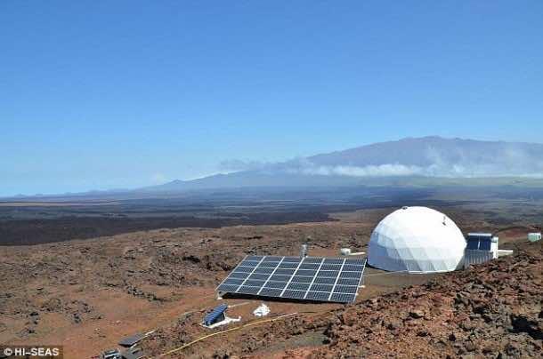 Home for Astronauts in Mars – Practice in Hawaii7