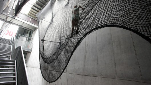 Climb Levels Within Buildings With Style Using These 3D Nets
