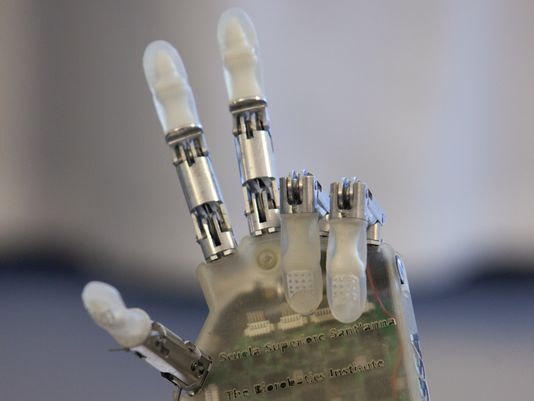 Prosthetic Limb That is Mind Controlled Imparts Sense of Touch
