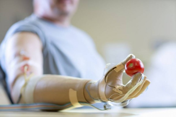 Prosthetic Limb That is Mind Controlled Imparts Sense of Touch2