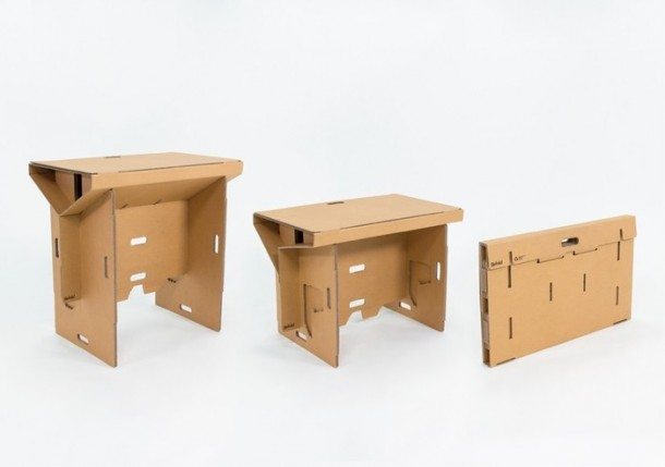 Refold's Cardboard Standing Desk5