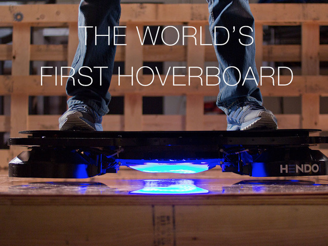 The Hendo Hoverboard is Real and Ready for Sale