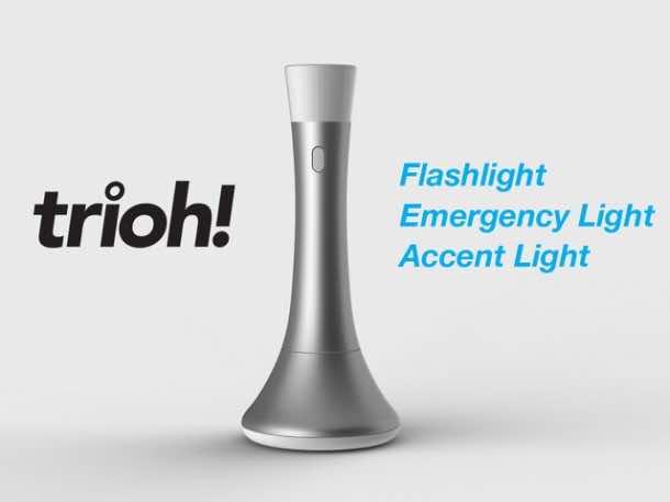 The Trioh – Portable and Amazing Design of Flashlight