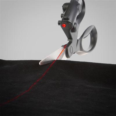 10. Laser-Guided Scissors