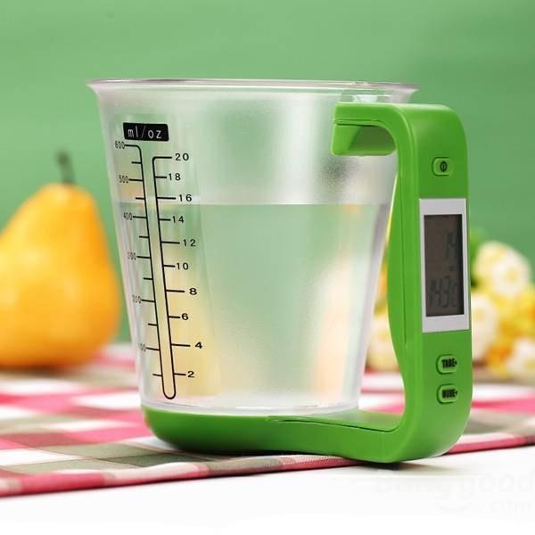 6. A digital measuring cup