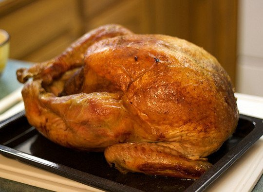 6. Cook Your Turkey Overnight.