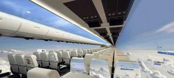 Airplanes without Windows, A Decade Away