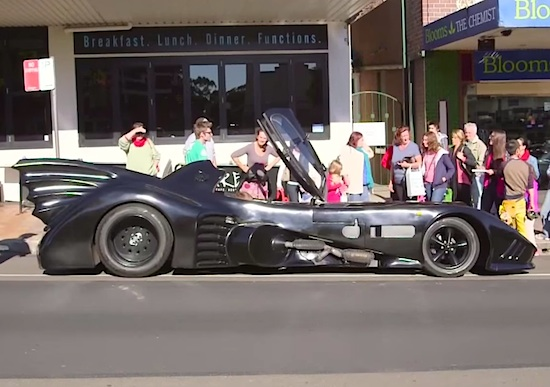 Australian Dude's Street Legal Batmobile3
