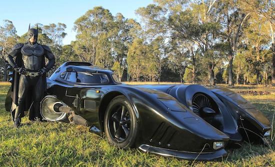 Australian Dude's Street Legal Batmobile5
