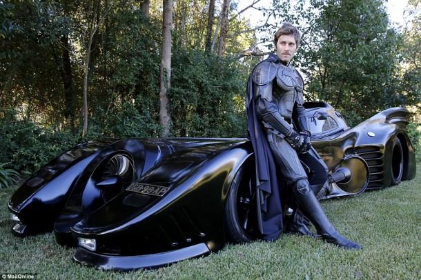 Australian Dude's Street Legal Batmobile6