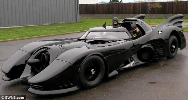Australian Dude's Street Legal Batmobile7
