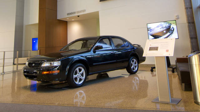 Bought From Craigslist and Restored by Nissan – The Nissan '96 Maxima 2