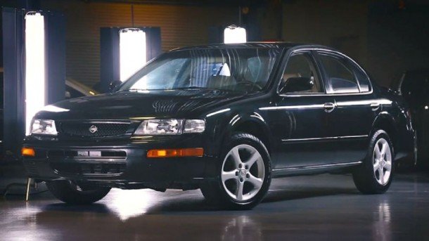 Bought From Craigslist and Restored by Nissan – The Nissan '96 Maxima