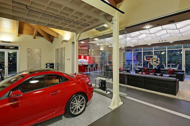 Car Collector Home in Washington worth $4 Million2