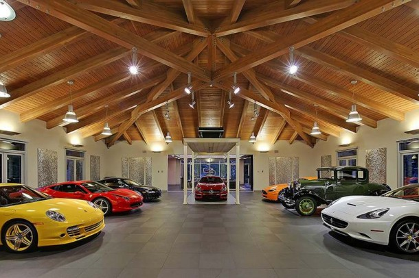 Car Collector Home in Washington worth $4 Million5