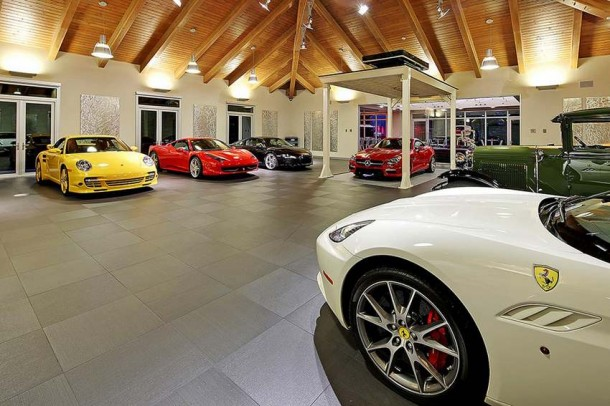 Car Collector Home in Washington worth $4 Million6