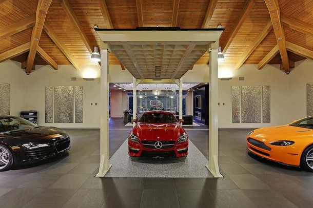 Car Collector Home in Washington worth $4 Million7
