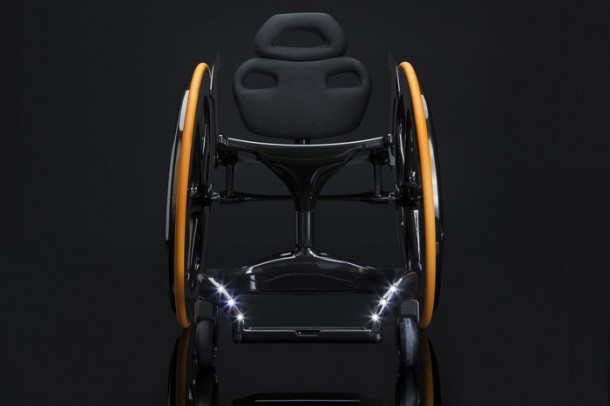 Carbon Black – Stylish Wheelchair4