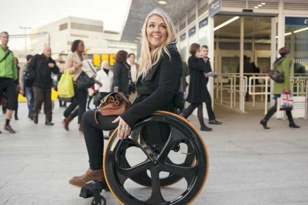 Carbon Black – Stylish Wheelchair5