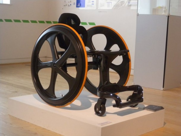 Carbon Black – Stylish Wheelchair7