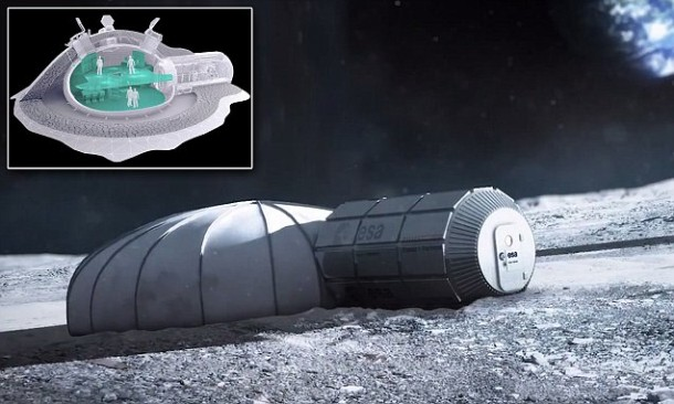 European Space Agency Reveals Home on Moon4