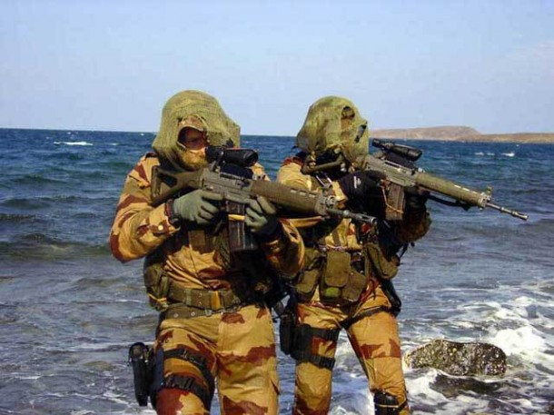 French Army Naval Commandos