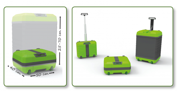 Fugu Luggage – Carry More 2