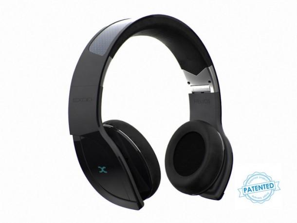 Helios Bluetooth Solar-powered Headphones by Exod