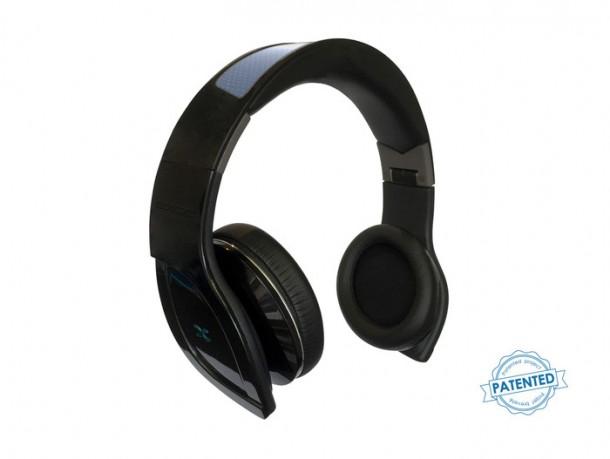 Helios Bluetooth Solar-powered Headphones by Exod5