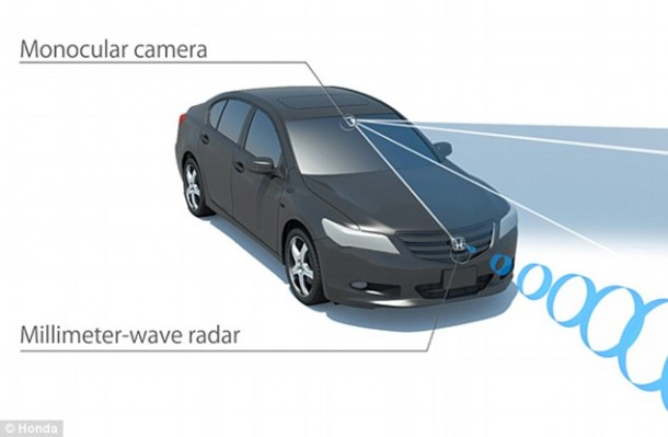 Honda Making Driving Safer – Sensing Technology Scheduled for December3