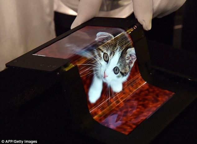 Japan's Semiconductor Energy Laboratory flexible displays3
