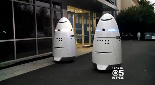 Knightscope K5 Security Guard Robots (3)