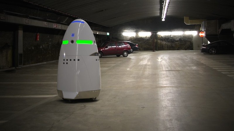 Knightscope K5 Security Guard Robots5