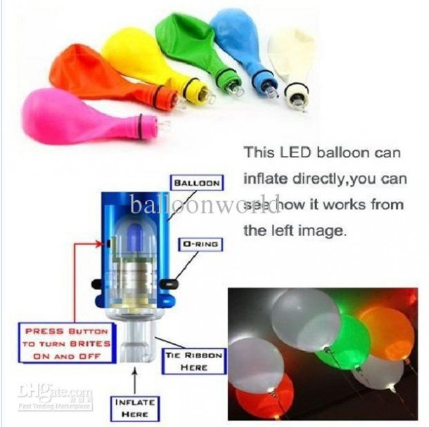 LED Balloons to Light up Your Party