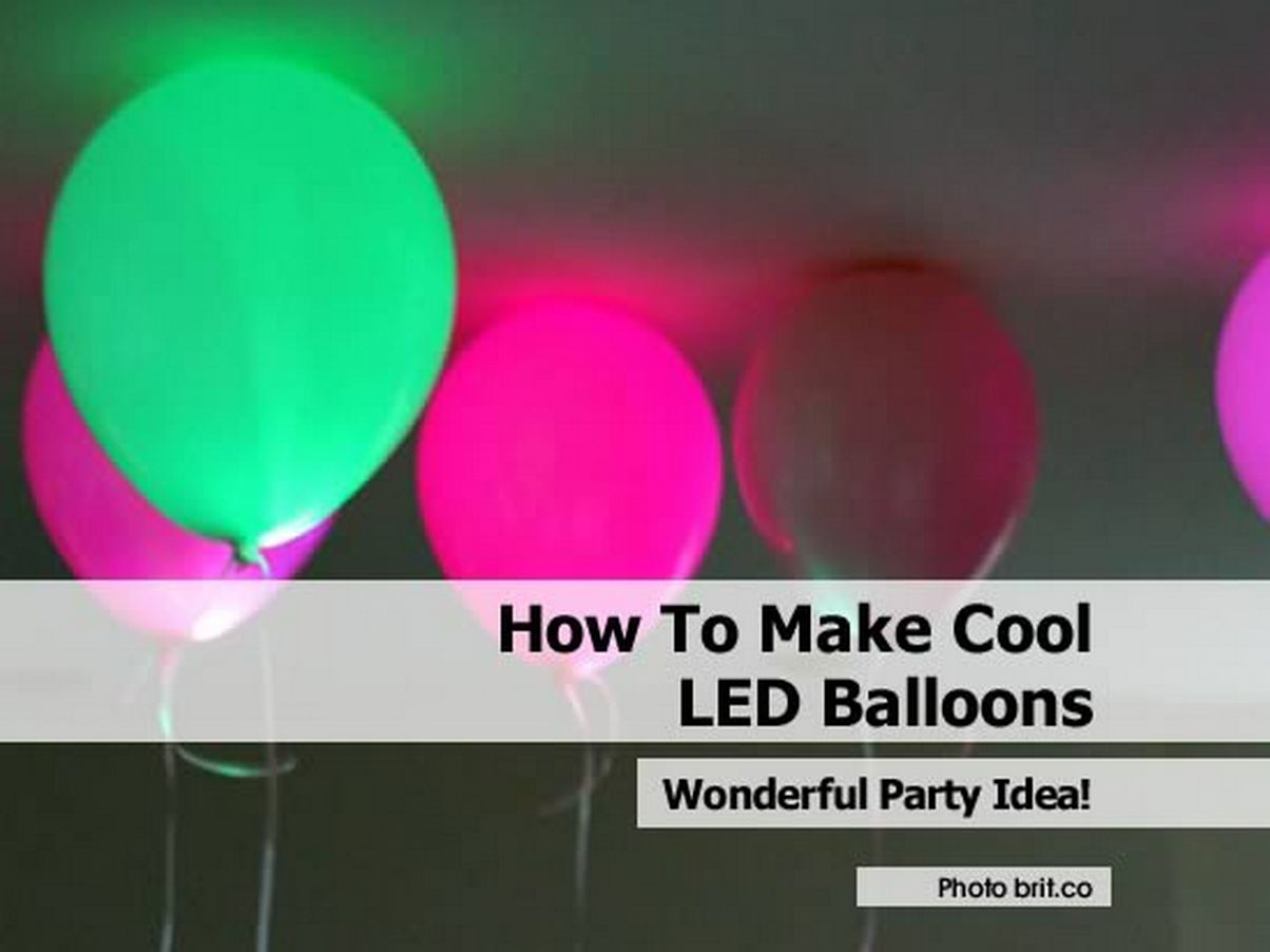LED Balloons to Light up Your Party4