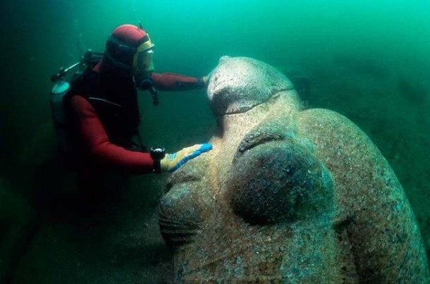 Lost Egyptian Sunken City Found4