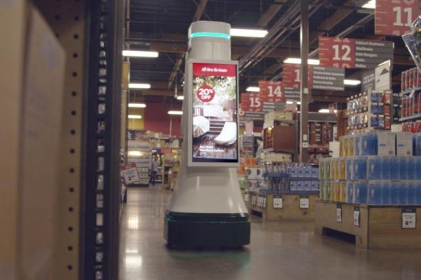 Lowe's OSHbot – Sales Robot Being Tested7