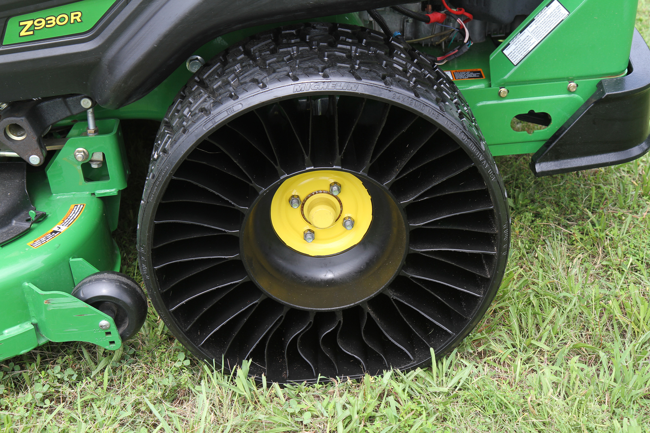 Michelin Unveils Tweel An Airless Tyre That Will Never Go