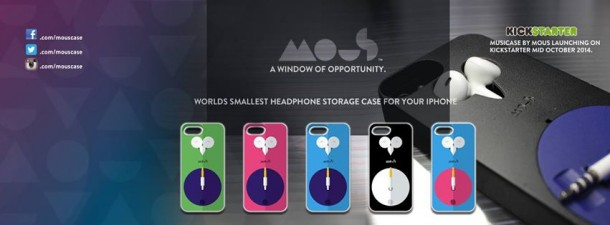 Mous Musicase – No More Tangled Earphones