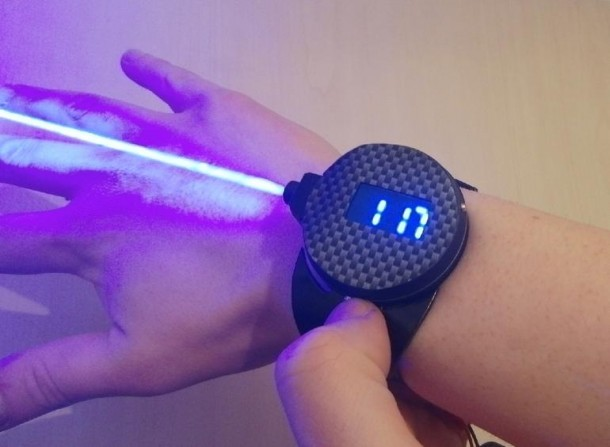 Patrick Priebe Bond-inspired Laser Watch