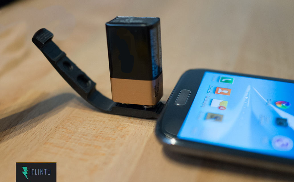 Plan V – Charge Your Smartphone with a 9 Volt Battery4