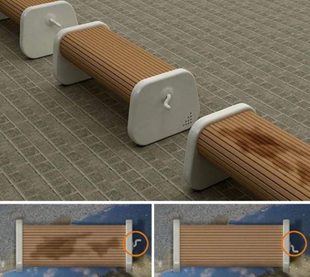 Rotating Park Bench2