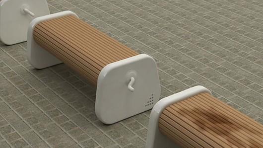 Rotating Park Bench3