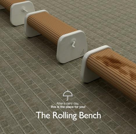 Rotating Park Bench4
