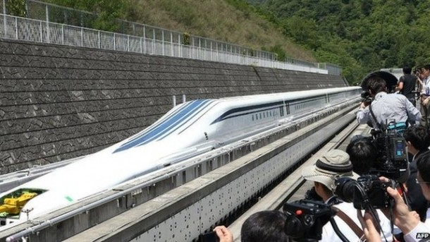 Shinkansen Maglev Train