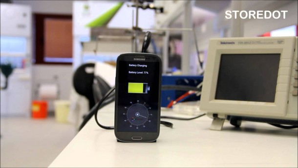 StoreDot Creates Battery – Charges in 30 Seconds