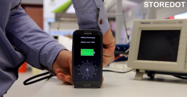 StoreDot Creates Battery – Charges in 30 Seconds2