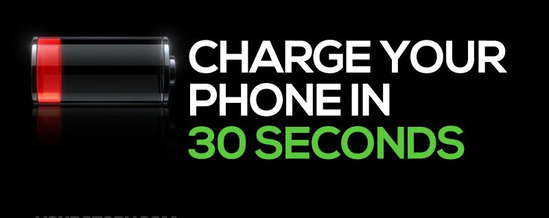 StoreDot Creates Battery – Charges in 30 Seconds5