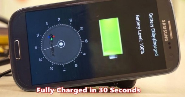 StoreDot Creates Battery – Charges in 30 Seconds6