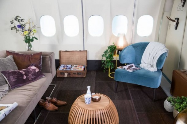 The Grounded Airplane Apartment - KLM Airplane Project for Airbnb4